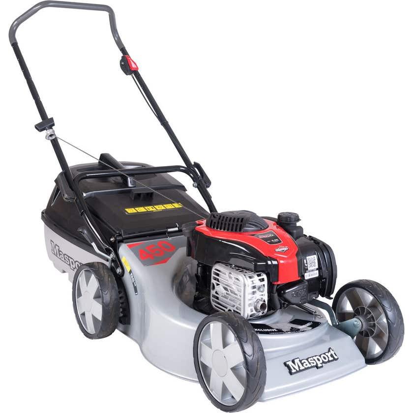 Masport 140cc 4 Stroke Petrol Lawn Mower Mulch & Catch 450ST
