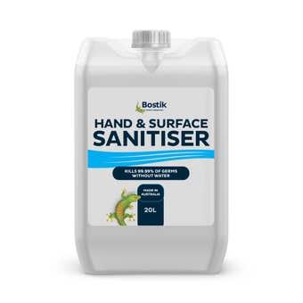 Bostik Hand Sanitiser Liquid 20L