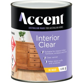 Accent Interior Clear Oil Based Gloss 1L