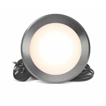 HPM LED Flat Face Downlight 7W Brushed Chrome