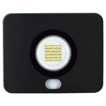 HPM Slim Floodlight with Sensor LED 20W