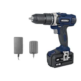 Rockwell 18V 4.0Ah Hammer Drill Kit