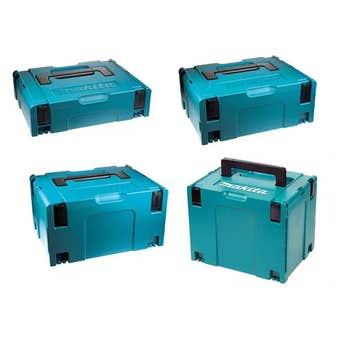 Makita Makpac Connector Carrying Case Set - 4 Piece