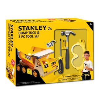 Stanley Jr. Tool Set & Dump Truck Kit - 3 Piece