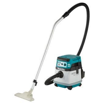 Makita 18V x 2 Brushless AWS 15L Wet/Dry Dust Extraction Vacuum Skin DVC157LZX2
