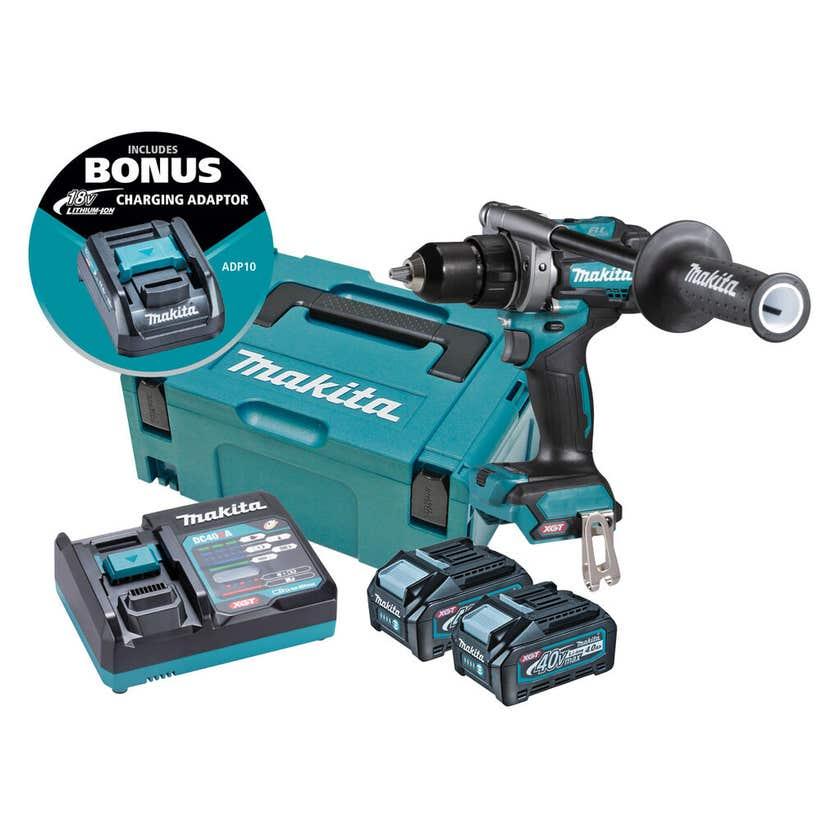Makita 40V Max Brushless Driver Drill Kit DF001GM203
