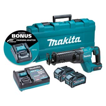 Makita 40V Max Brushless Reciprocating Saw Kit JR001GM202