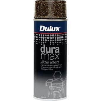 Dulux Duramax Spray Paint Gold Glitter Effect 300g