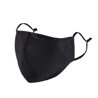 Reusable Face Mask Black with Filter