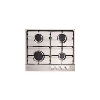 Euro Appliances Gas Cooktop Stainless Steel 600mm