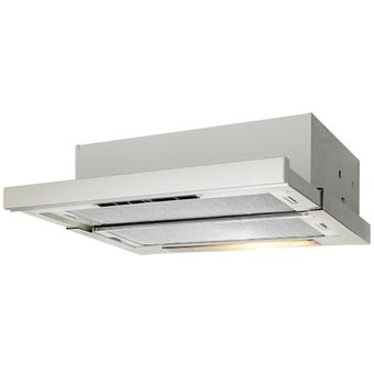 Artusi Slideout Rangehood 600m3/hr Airflow 600mm