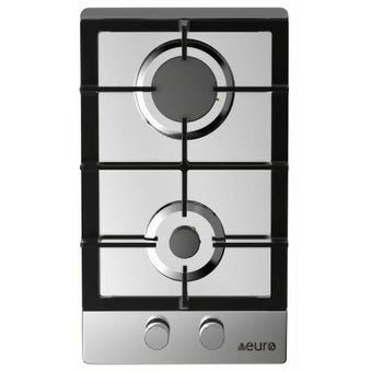 Euro Appliances Gas Cooktop 2 Burner 300mm