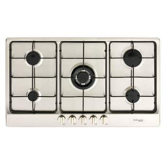 Technika Natural Gas Cooktop Stainless Steel 900mm