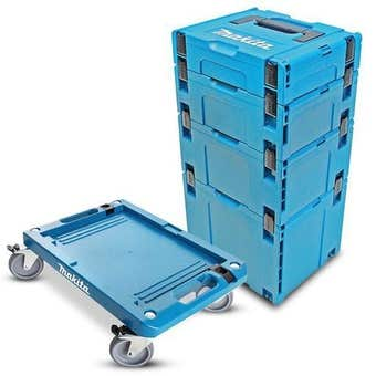 Makita Makpac Case 1-4 Set/Platform Trolley MAKPAC114