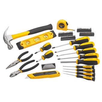 Stanley Tool Kit With Case 62 Piece