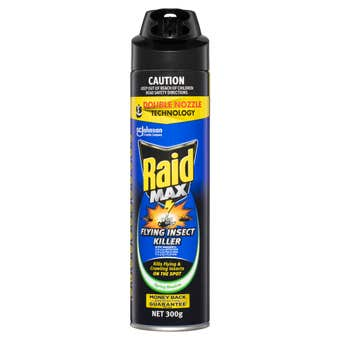 Raid MAX Flying Insect Killer with Double Nozzle Technology 300g