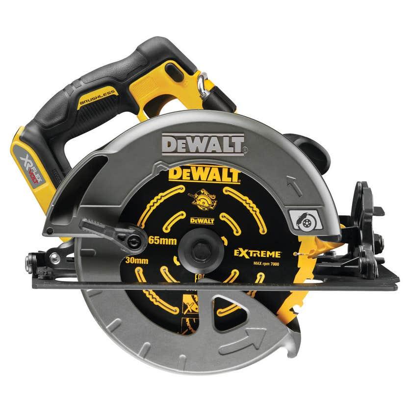 DeWALT XR FlexVolt 54V Li-Ion Cordless Brushless 184mm Circular Saw - Skin Only