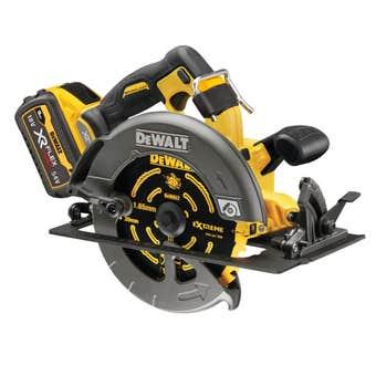 DeWALT XR FlexVolt 54V 9.0Ah Li-Ion Cordless Brushless 184mm Circular Saw Combo Kit