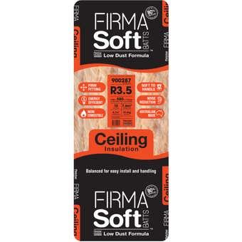 FirmaSoft R3.5 Ceiling Insulation Batt 1160 x 580 x 175mm - 10 Pack