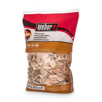 Weber Pecan Wood Chips 900g
