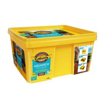 Cabot's Aquadeck Ready Bucket Merbau 5L