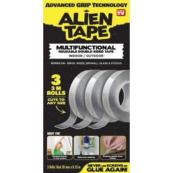 Alien Tape 30mm x 9.15m - 3 Pack