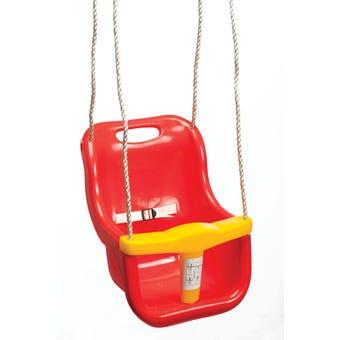 Swing Slide Climb Baby Seat Swing Red
