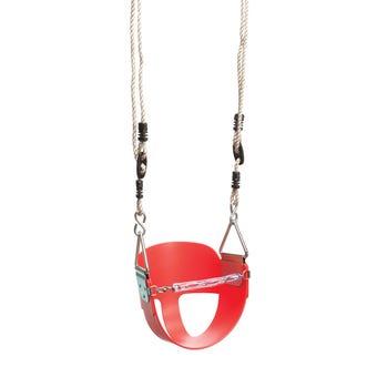 Swing Slide Climb Toddler Seat Red
