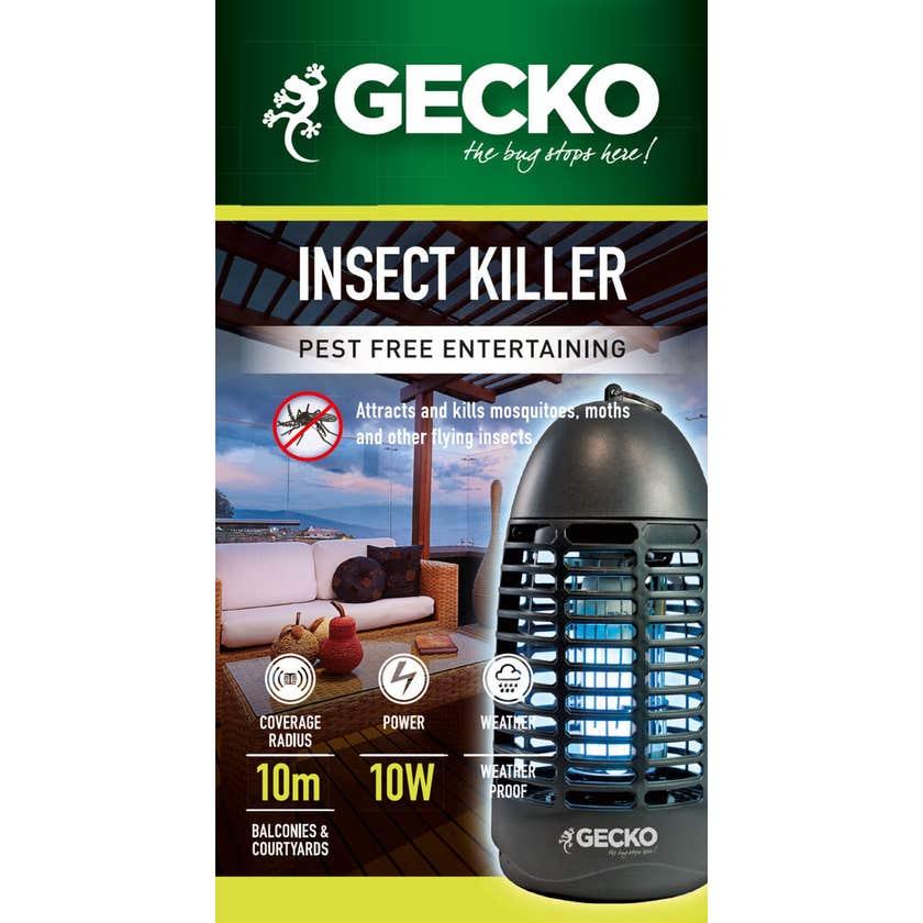 Gecko Waterproof Bug Zapper 10W