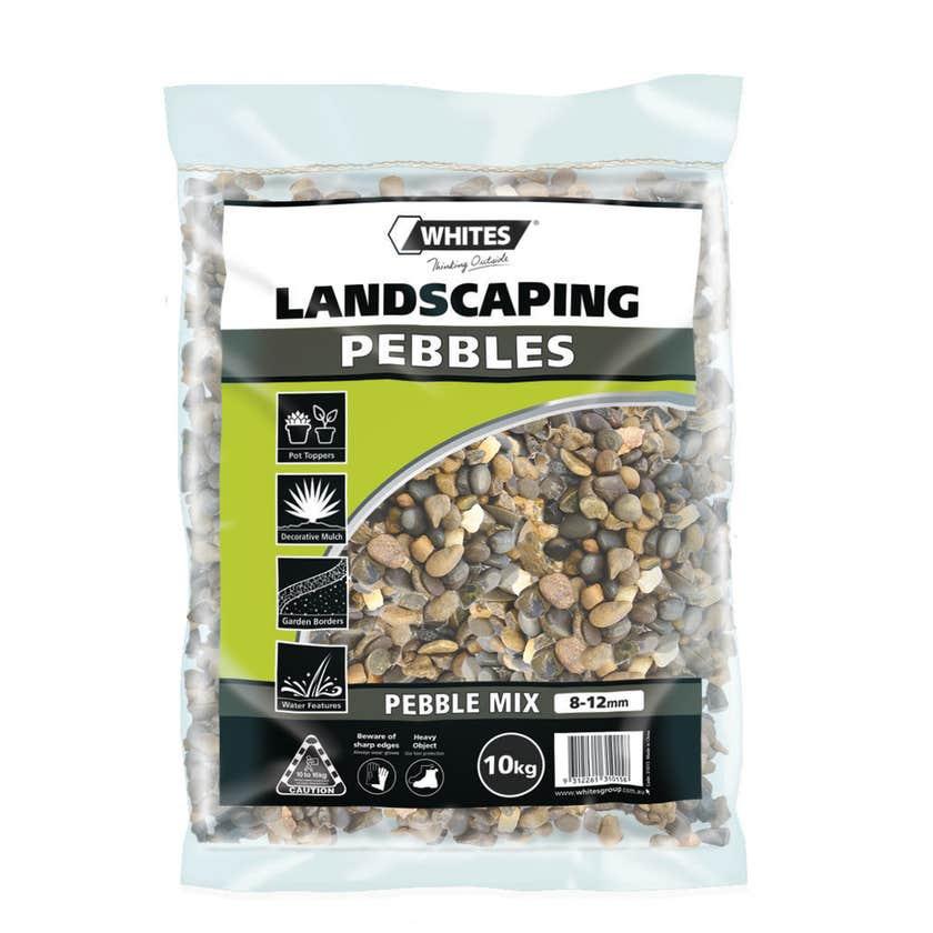 Whites Landscaping Pebble Mix 8-12mm 10kg
