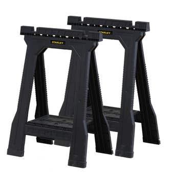 Stanley Junior Folding Sawhorse - Twin Pack