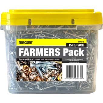 Macsim Farmers Pack Mixed Fasteners 15kg