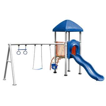 Swing Slide Climb Commercial Multi Playset
