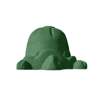 Swing Slide Climb Rubber Turtle Green
