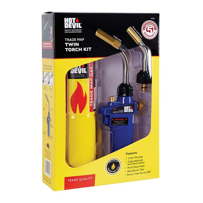 Hot Devil Trade Map Twin Torch Kit