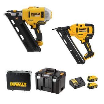 DeWALT 18V XR 5.0Ah Brushless Nailer Combo Kit - 2 Piece DCZ265P2-XE