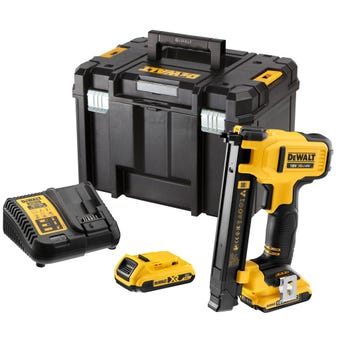 DeWALT 18V 2.0Ah XR Li-Ion Brushless Electricians Stapler Kit DCN701D2-XE