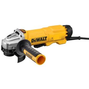 DeWALT 1400W Paddle Switch Angle Grinder 125mm