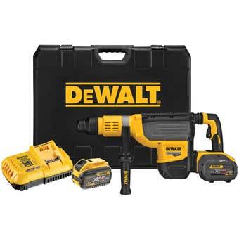 DeWALT 54V XR Flexvolt Brushless Rotary Hammer SDS Kit DCH773Y2-XE
