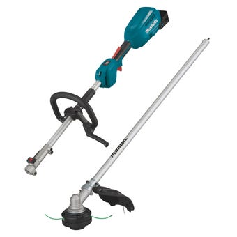 Makita 18V Brushless Multi-Function Powerhead and Line Trimmer Kit - Skin Only