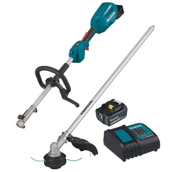 Makita 18V Brushless Multi-Function Powerhead and Line Trimmer Kit