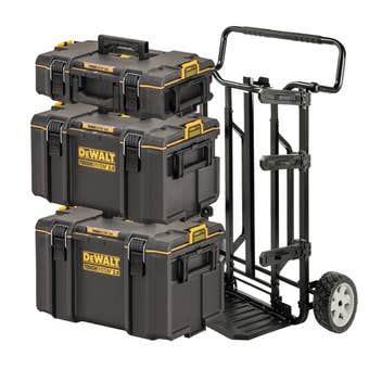 DeWALT TOUGHSYSTEM 2.0 4-in-1 Stackable Storage Tool Box System