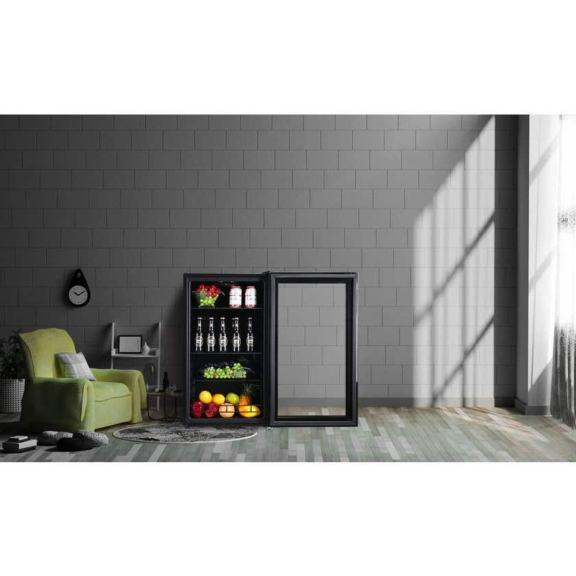 Heller Beverage Cooler Black 98L