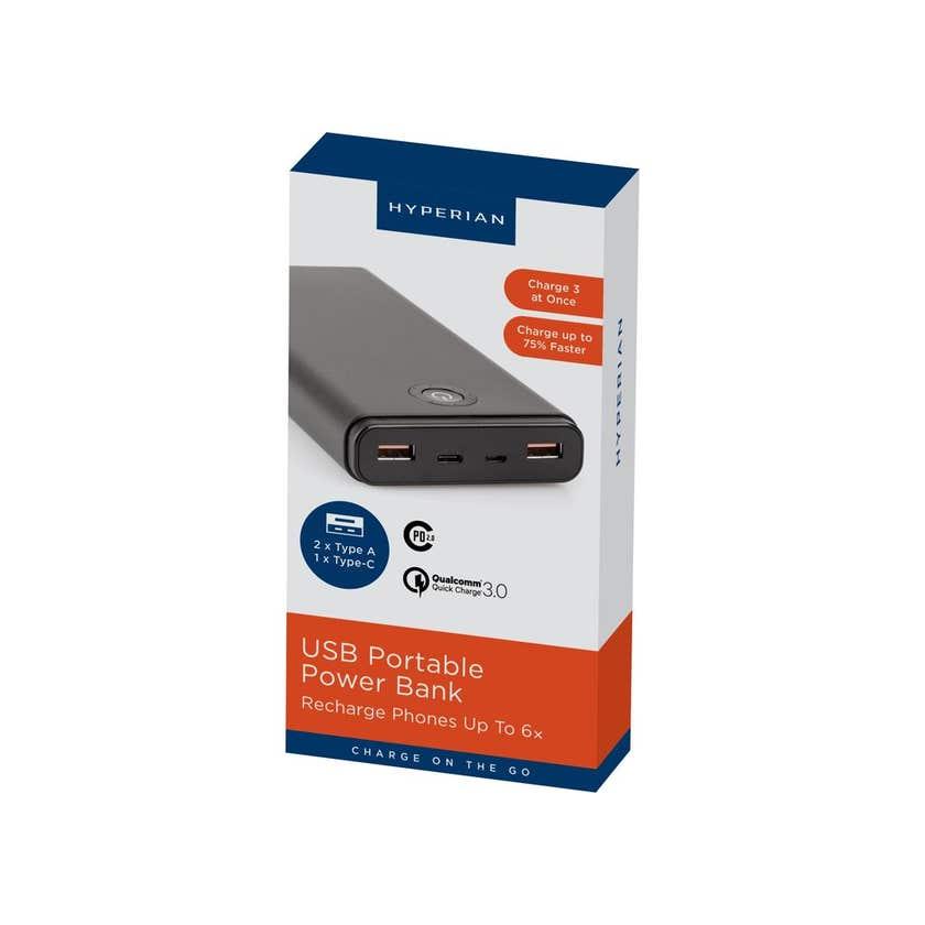 Hyperian Portable Powerbank 20,000mAH