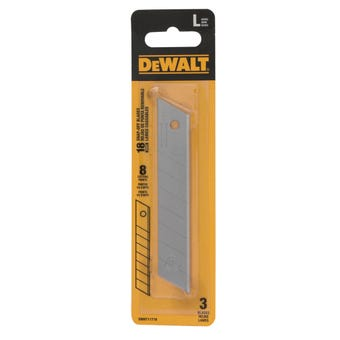 DeWALT Snap Off Knife Blades - 3 Pack