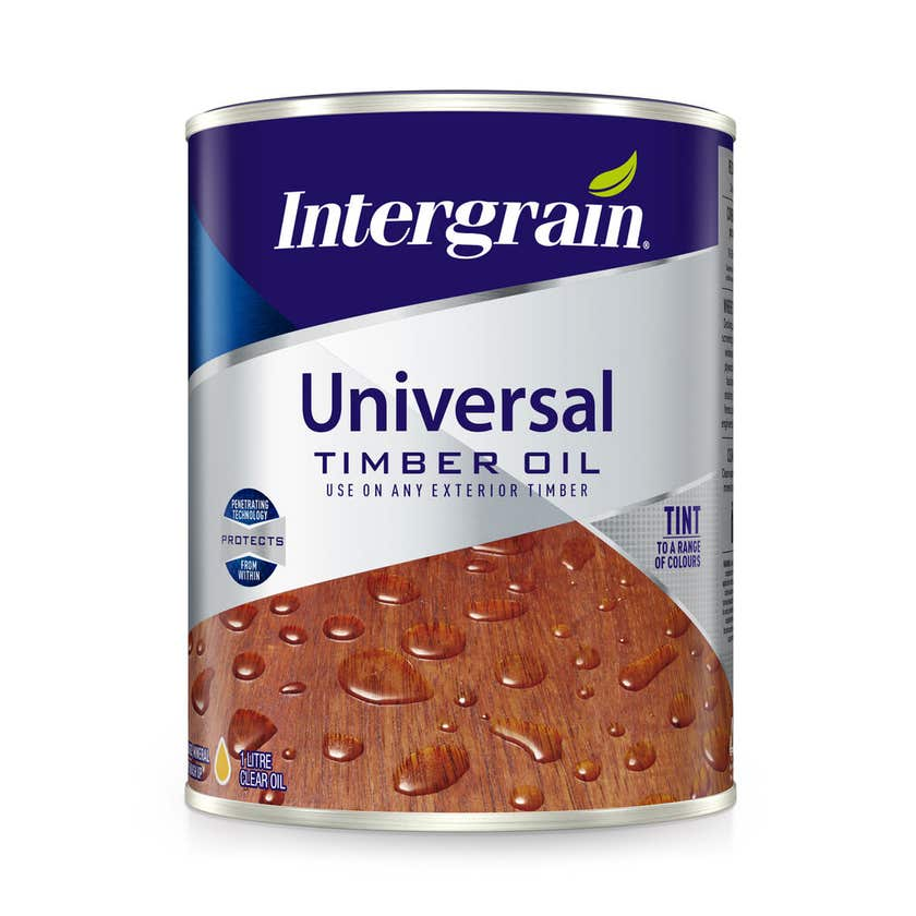 Intergrain Universal Timber Oil Clear 1L