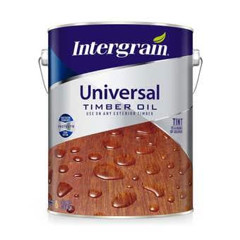 Intergrain Universal Timber Oil Clear 5L