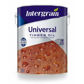 Intergrain Universal Timber Oil Clear 10L