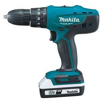 Makita 18V Hammer Driver Drill Kit M8301DWEB