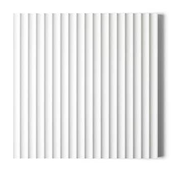 Surround by Laminex Scallop 22.5 Primed Wall Panel 12mm